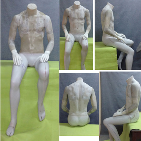Mannequin Seated - Final Work