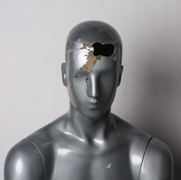 Damaged Mannequin Head