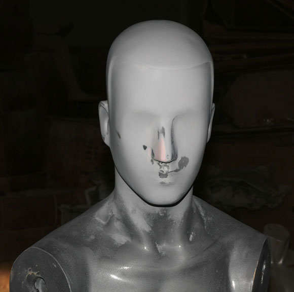 Repaired Mannequin Head